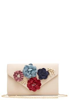 Koko Couture Flower Bag Beige Bubbleroom.dk