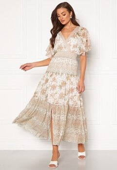 FOREVER NEW Darla Tiered Maxi Dress Jacobean Blossom Bubbleroom.dk