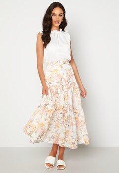 FOREVER NEW Fleur Tiered Maxi Skirt Vintage Splendor bubbleroom.dk