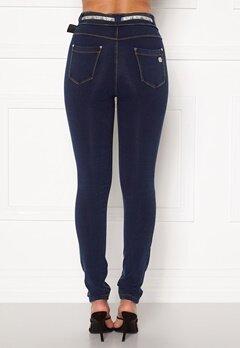 FREDDY N.O.W. Pants MW Skinny J0Y (Mörk Denim) Bubbleroom.dk