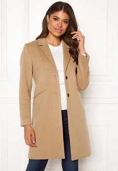 GANT Classic Tailored Coat 213 Warm Khaki Bubbleroom.dk