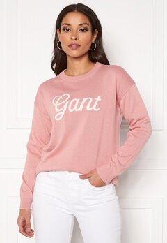 GANT Gant Logo Crew 659 Summer Rose Bubbleroom.dk
