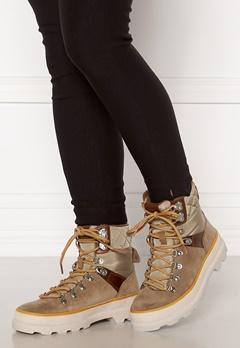 GANT Kaari Mid Lace Boot Warm Khaki Bubbleroom.dk