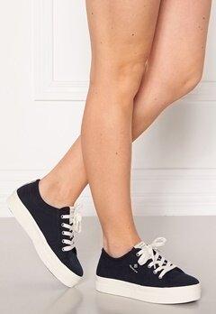 GANT Leisha Low Lace Shoes Marine Bubbleroom.dk