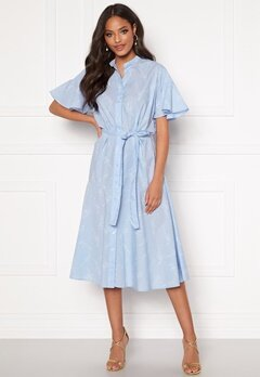 GANT Pure Prep Printed Dress 420 Hamptons Blue Bubbleroom.dk