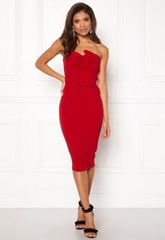 Girl In Mind Kendall Dress Red Bubbleroom.dk