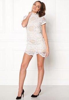 Girl In Mind Lace Dress White Bubbleroom.dk