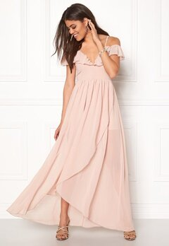 Girl In Mind Maxi Flow Dress Light Pink Bubbleroom.dk
