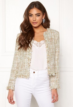 Girl In Mind Sienna Crop Jacket Mint Bubbleroom.dk
