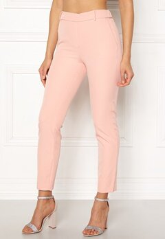 ONLY Glowing Mid Ankle Pant Cameo Rose Bubbleroom.dk