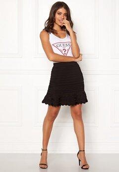 Guess Alexia Sweater Skirt Jet Black Bubbleroom.dk