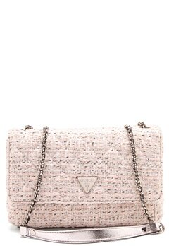 Guess Cessily Convertible Bag White Multi Bubbleroom.dk