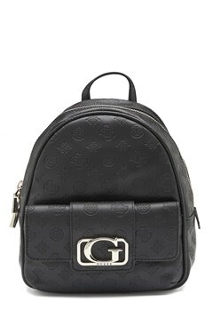 Guess Emilia Small Backpack Black Bubbleroom.dk