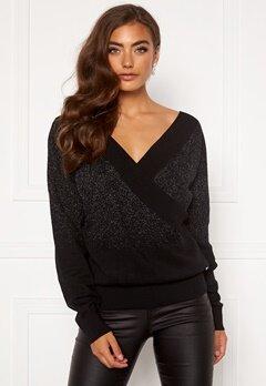Guess Erminia LS Sweater JBLK Jet Black A996 Bubbleroom.dk
