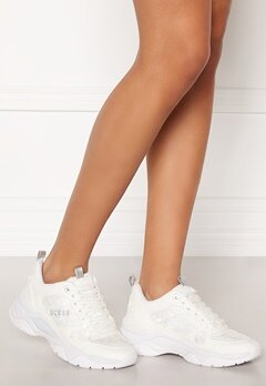 Guess Flaus Sneakers White Bubbleroom.dk