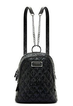 Guess Lola Backpack Black Bubbleroom.dk