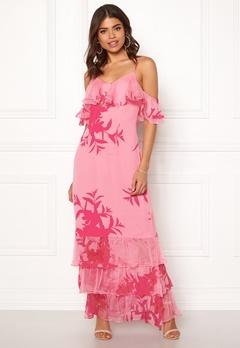 Guess Olinda Dress Flower Impact Pink Bubbleroom.dk