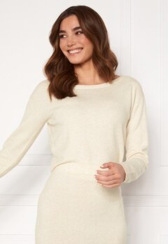 Guess Tanya Boat Neck Pullover F33 Oatmeal Heather Bubbleroom.dk