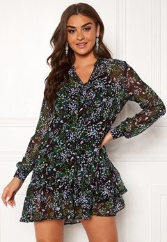 Guess Veronica Dress Forget Me Not Flower Bubbleroom.dk