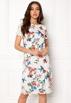 Happy Holly Addy dress Offwhite / Patterned Bubbleroom.dk