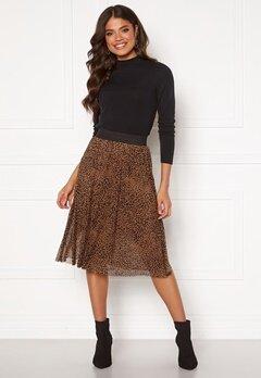 Happy Holly Alaina mesh skirt Leopard Bubbleroom.dk
