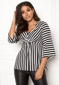Happy Holly Alessa top Striped Bubbleroom.dk