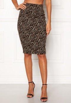 Happy Holly Alexandra skirt Leopard Bubbleroom.dk