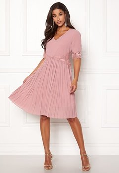 Happy Holly Alice occasion dress Dusty pink Bubbleroom.dk