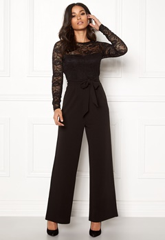 Happy Holly Amalia jumpsuit Black Bubbleroom.dk