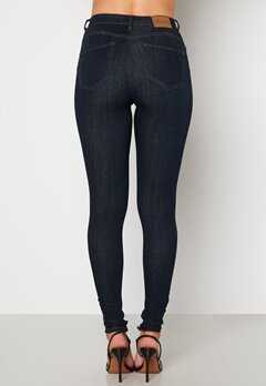 Happy Holly Amy push up jeans Dark denim bubbleroom.dk