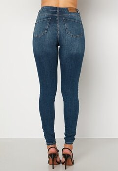 Happy Holly Amy push up jeans Medium denim bubbleroom.dk