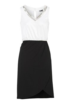 Happy Holly Anya dress Black / Offwhite Bubbleroom.dk
