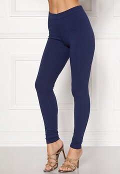 Happy Holly Beata Leggings Navy / Black Bubbleroom.dk