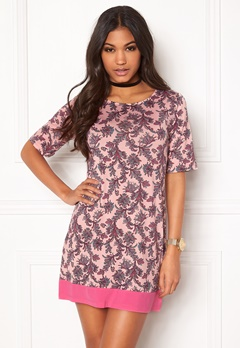 Happy Holly Belicia dress Pink / Patterned Bubbleroom.dk