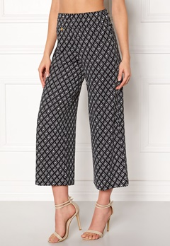 Happy Holly Bianka pants Black / Patterned Bubbleroom.dk