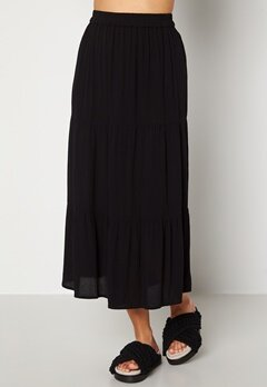 Happy Holly Bianka skirt Black bubbleroom.dk