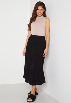 Happy Holly Bianka skirt Black Bubbleroom.dk