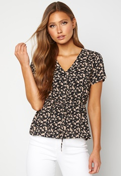 Happy Holly Blake blouse Black / Patterned Bubbleroom.dk