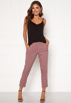 Happy Holly Blake pants Dusty pink / Dotted Bubbleroom.dk