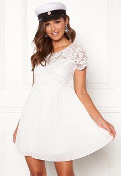Happy Holly Blanche dress White Bubbleroom.dk