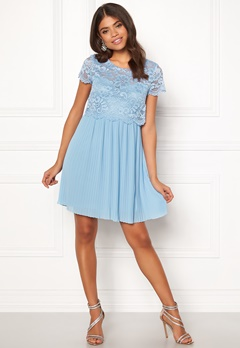 Happy Holly Blanche occasion dress Light blue Bubbleroom.dk