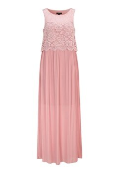 Happy Holly Blanche occasion maxi dress Dusty pink Bubbleroom.dk