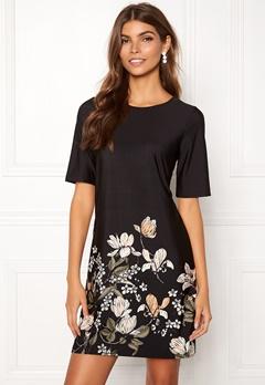 Happy Holly Blenda dress Black / Patterned Bubbleroom.dk