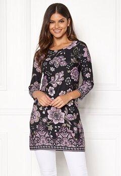 Happy Holly Blenda dress Purple / Patterned Bubbleroom.dk