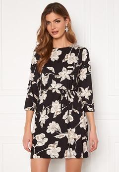 Happy Holly Blenda dress, with belt Floral Bubbleroom.dk