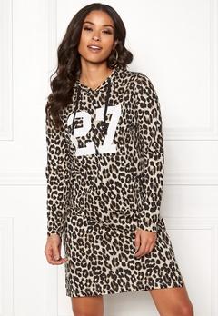 Happy Holly Camila hood Leopard Bubbleroom.dk