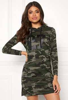 Happy Holly Camila tricot hood Camouflage Bubbleroom.dk