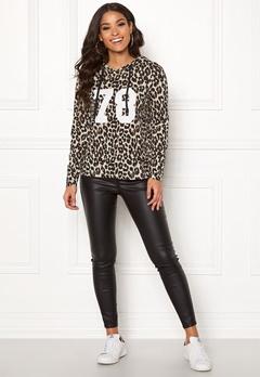 Happy Holly Camila short hood Leopard Bubbleroom.dk