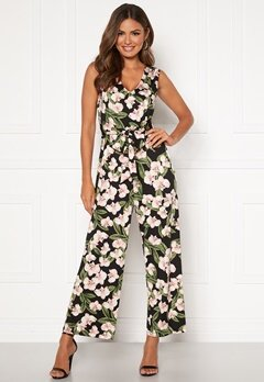 Happy Holly Celine sleeveless jumpsuit Floral Bubbleroom.dk