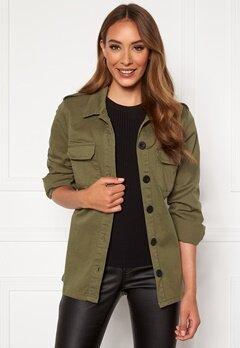 Happy Holly Cindy jacket Khaki green Bubbleroom.dk